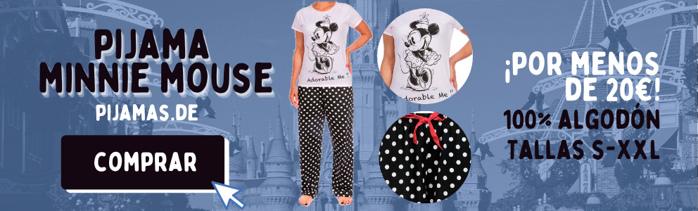 Pijama Minnie Mouse